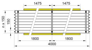 Rozmery KSP LED BASIC 4000