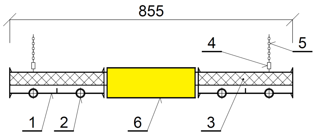 Řez panelu KSP LED PREMIUM