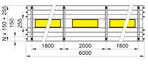 Rozměry KSP LED PREMIUM 6000