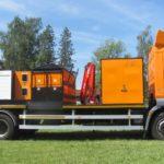 SILKOT - Stroj na opravu silnic