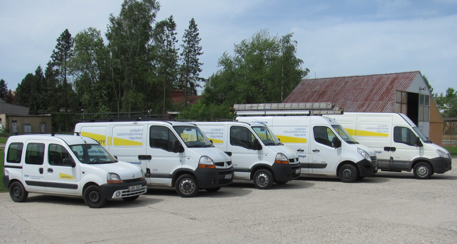 Servisní flotila, Service cars
