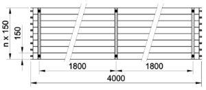 Půdorys KSP 4000 bw