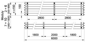 Půdorys KSP 6000 bw