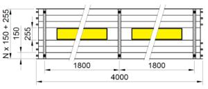 Rozměry KSP LED PREMIUM 4000